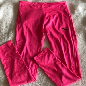Puma pink leggings